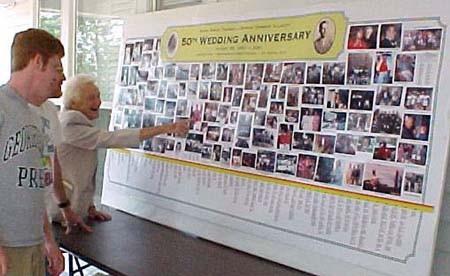 Thomas-Allnutt 50th Wedding Anniversary | Poolesville, Maryland | August 2001